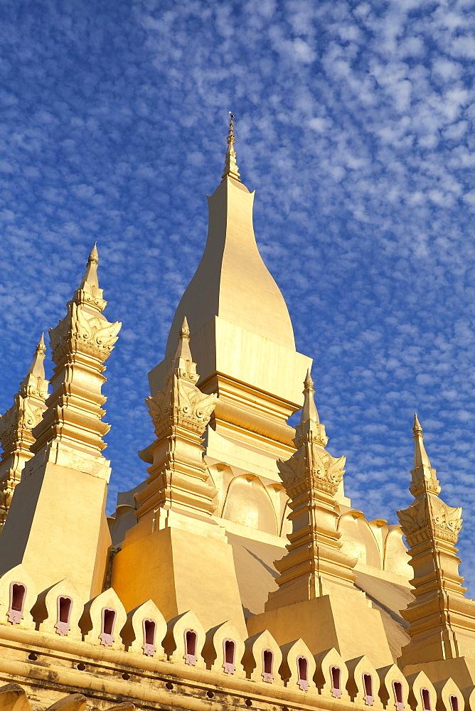 Stupa Pha That Luang, Pha Tat Luang, Vientiane, Laos, Southeast Asia
