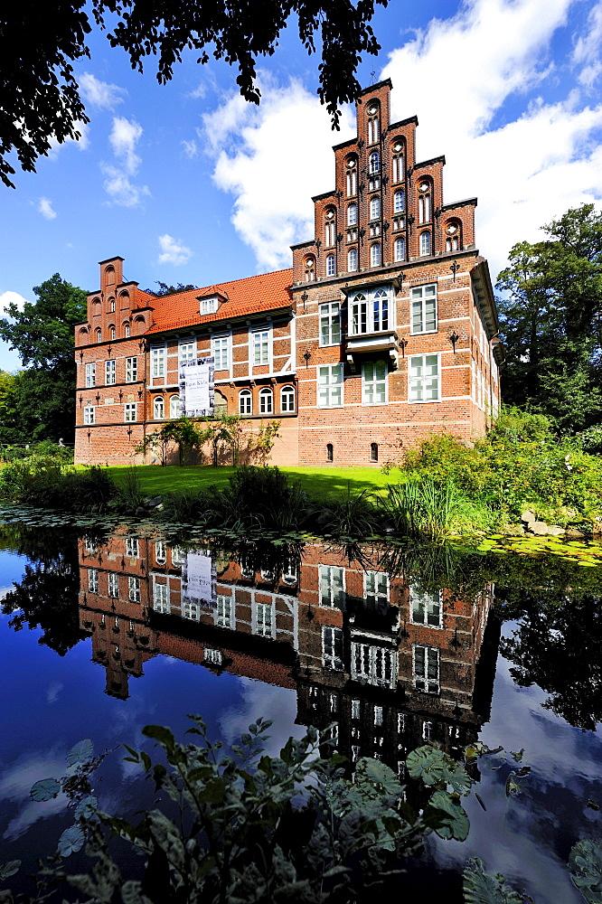 Schloss Bergedorf Castle in Hamburg, Germany, Europe
