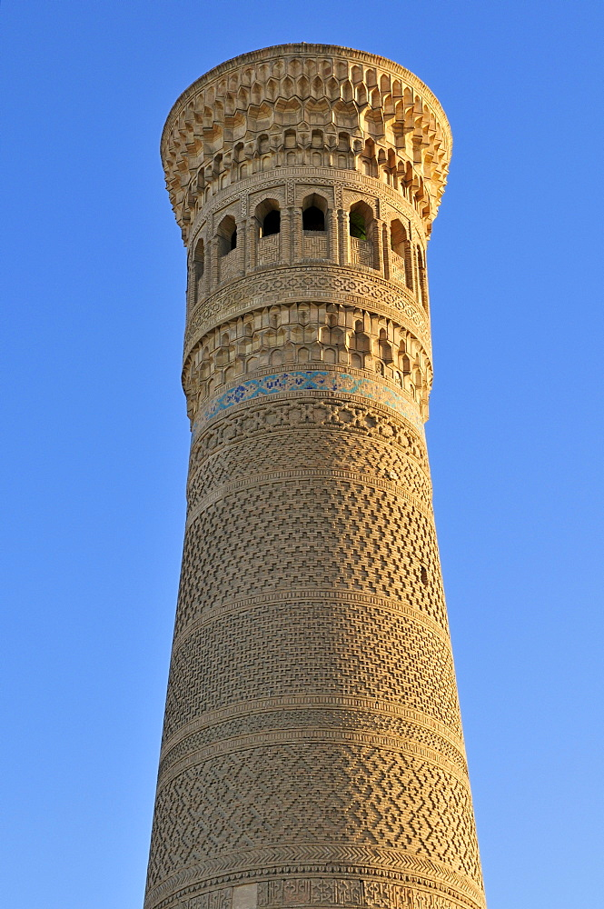 Kalan, Kalyan, Kalon Minaret, Bukhara, Buchara, Silk Road, Unesco World Heritage Site, Uzbekistan, Central Asia