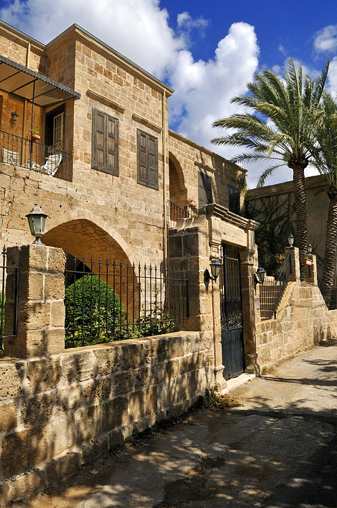Historic building in the historic town of Batroun, Lebanon, Middle East, West Asia
