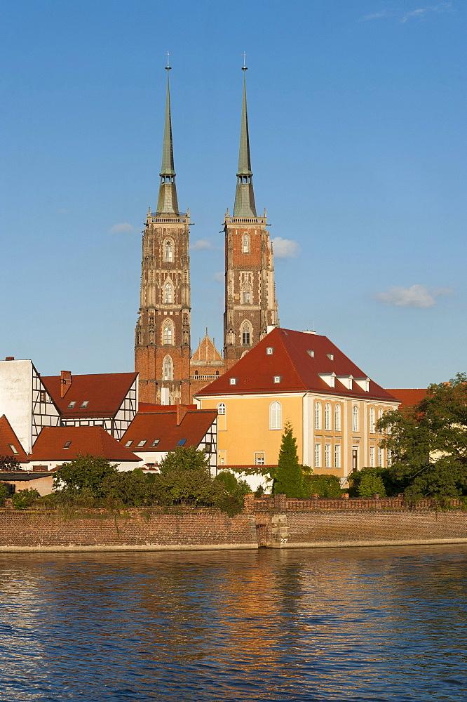Wroc&aw Cathedral of St. John the Baptist, Archikatedra &w. Jana Chrzciciela, Wroclaw, Lower Silesia, Poland, Europe