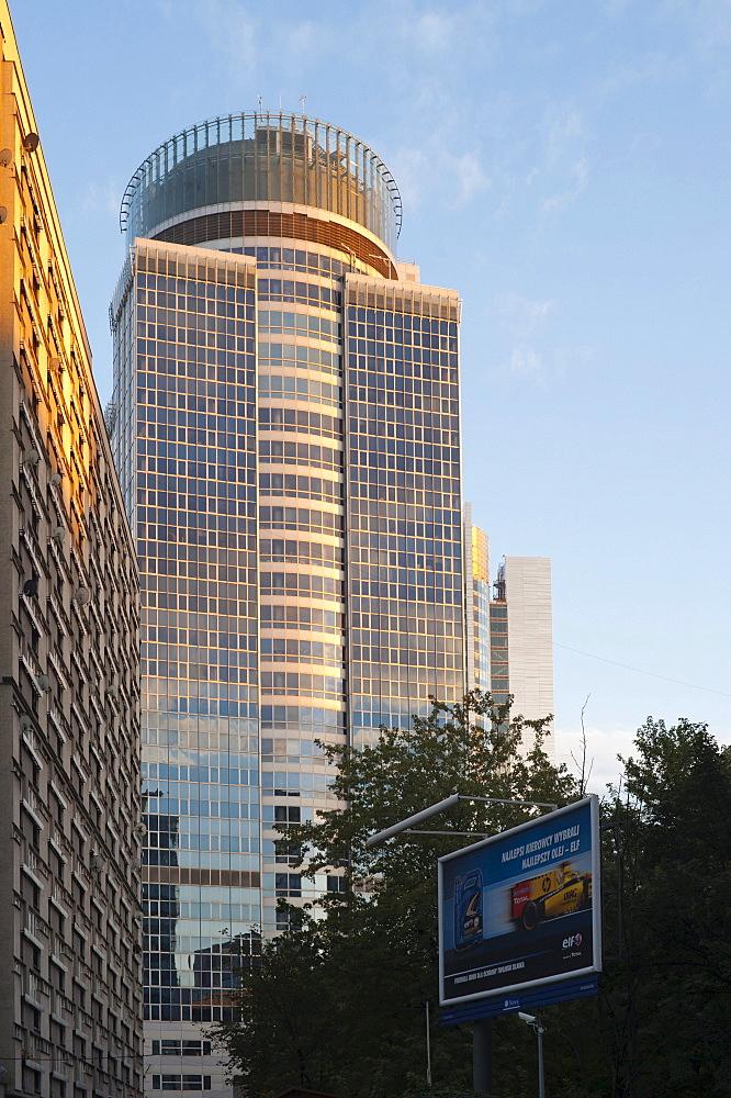 Tower building, Warsaw, Masovia province, Poland, Europe