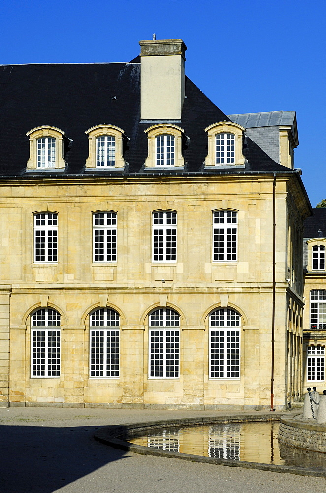 North wing of the cloister building, L'Abbaye aux Dames, Abbey of Women, Caen, Basse-Normandie, France, Europe