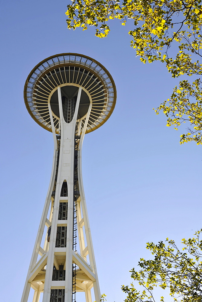 Space Needle, Seattle Center, Seattle, Washington, United States of America, USA
