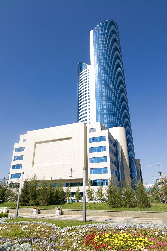 Modern office buildings, Astana, Kazakhstan, Central Asia