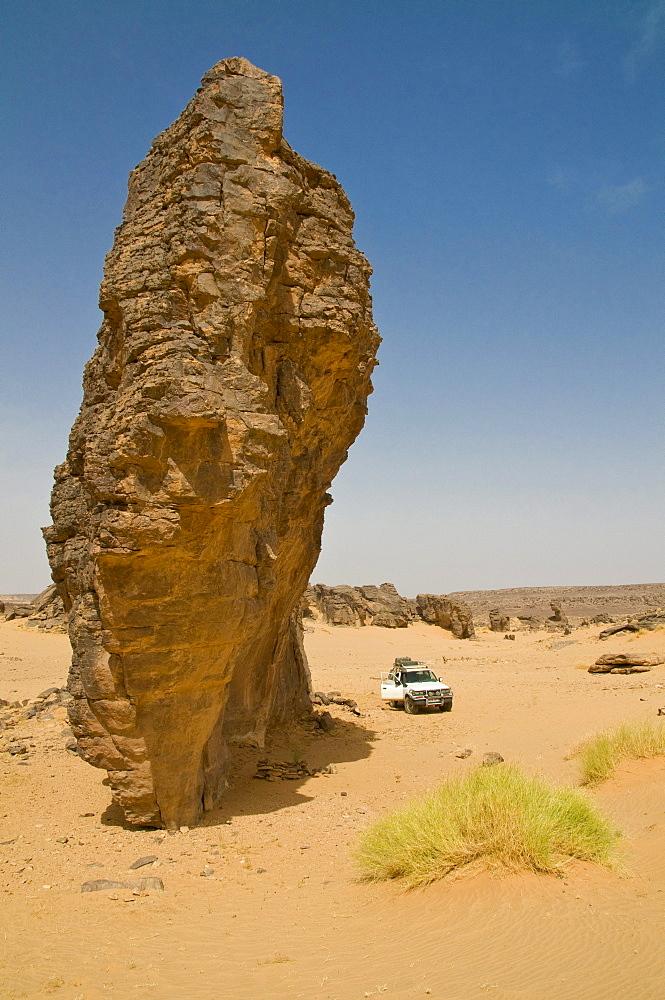 Rock formation, Tasset, Algeria, Africa