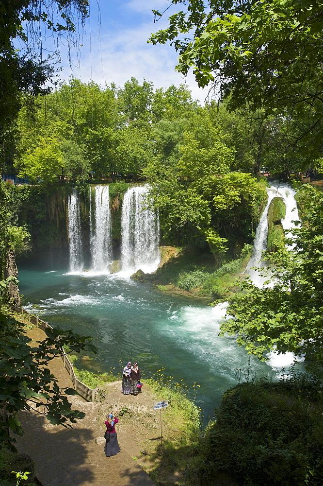 Dueden Waterfalls near Antalya, Turkish Riviera, Turkey