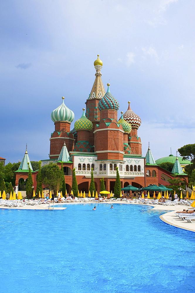 Hotel WOW Kremlin Palace in Antalya, Turkish Riviera, Turkey