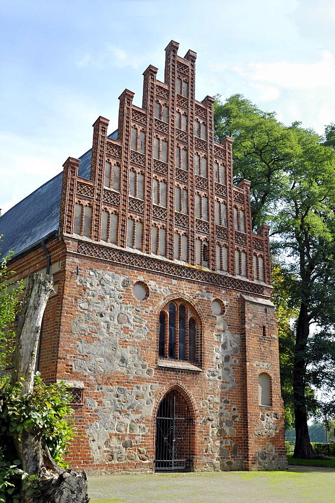 Facade of the Heiliggrabkapelle, Holy Sepulchre Chapel, Kloster Stift zum Heiligengrabe, Heiligengrabe Abbey, Cistercian monastery, Heiligengrabe, Prignitz, Brandenburg, Germany, Europe