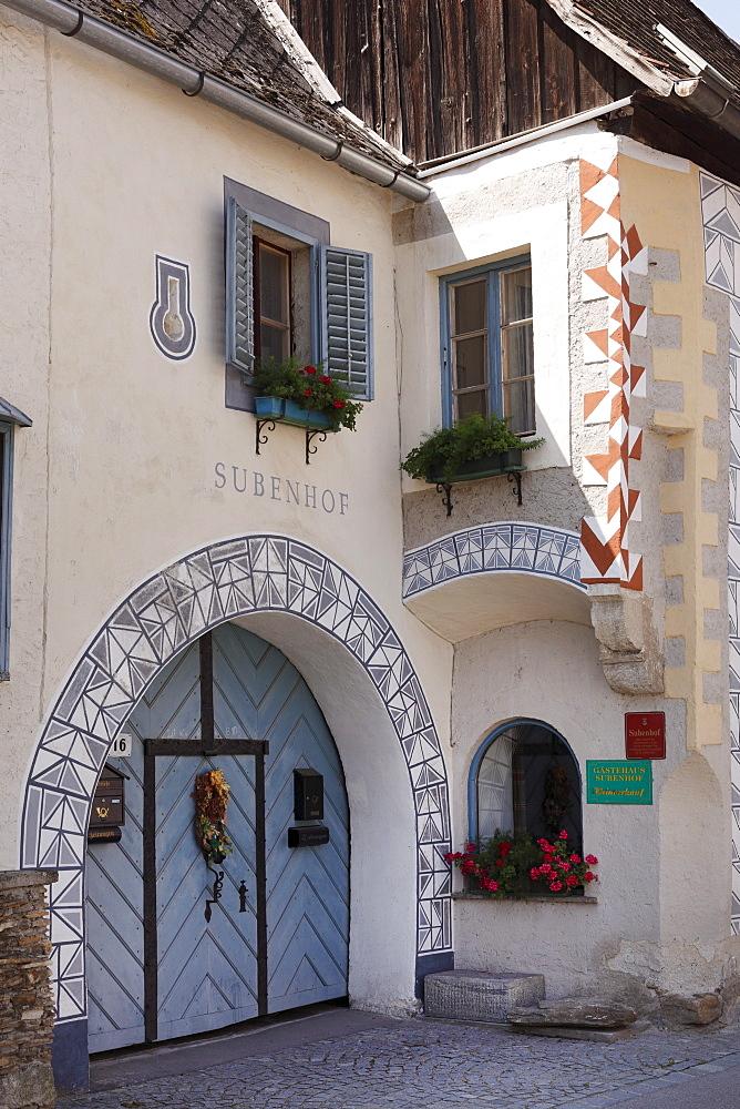 Subenhof, Rossatz Castle, Wachau, Mostviertel quarter, Lower Austria, Austria, Europe
