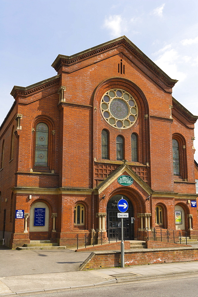 Salisbury Baptist Church, Brown Street, Salisbury, Wiltshire, England, United Kingdom, Europe