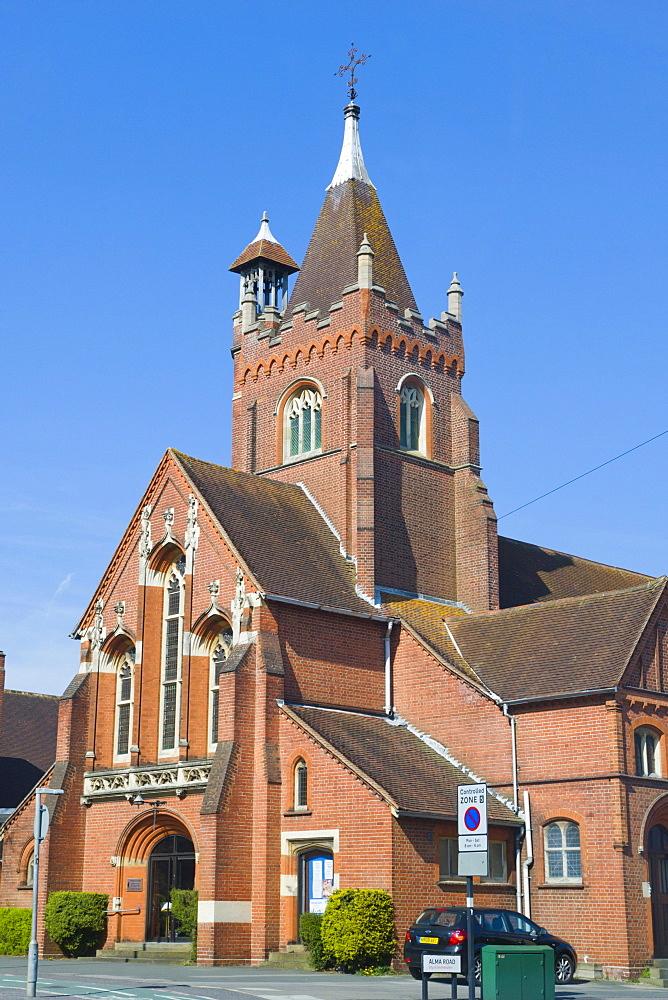 Avenue St Andrew's United Reformed Church, Alma Road, Southampton, Hampshire, England, United Kingdom, Europe