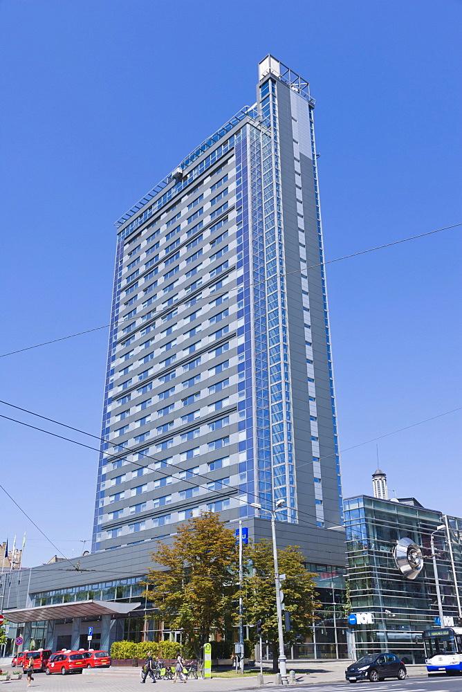 Radisson Blu Hotel Latvija, Elizabetes iela, Elizabetes Street, Riga, Latvia, Northern Europe
