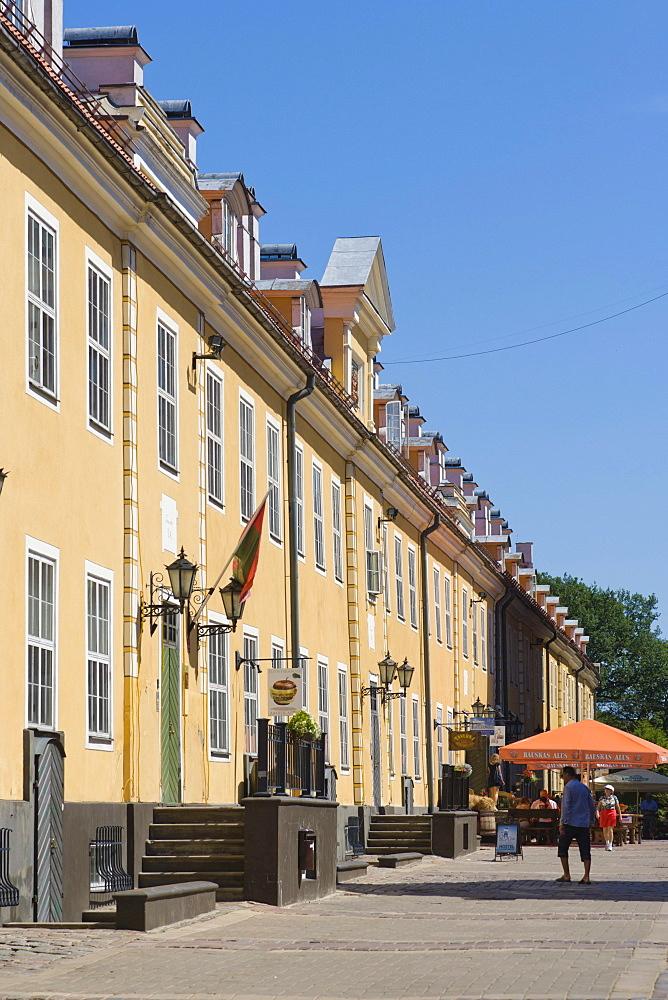 Jekaba kazarmas, Jacob's barracks, Torna iela street, historic district, Vecriga, Riga, Latvia, Northern Europe