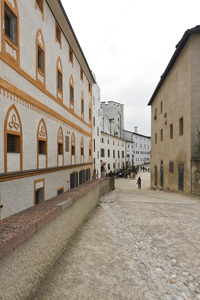 Within the premises of Hohensalzburg Castle, Salzburg, Austria, Europe