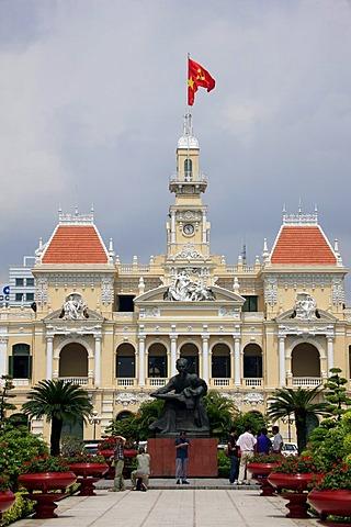 City Hall, Ho Chi Minh City, Saigon, South Vietnam, Vietnam, Asia
