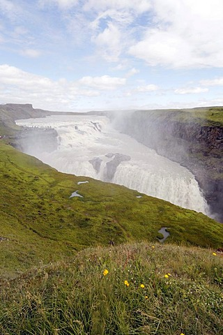 Gullfoss waterfall, Golden Circle, Iceland, Europe