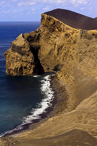 Capelinhos volcano on the island of Faial, Azores, Portugal