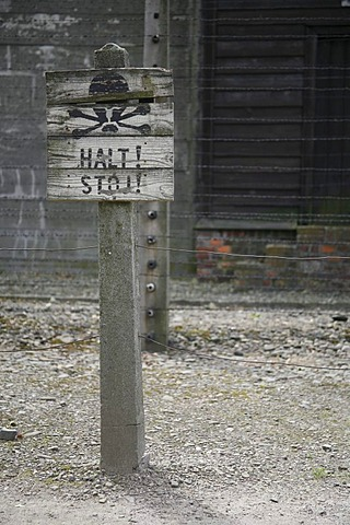 The Auschwitz concentration camp, Poland, Europe