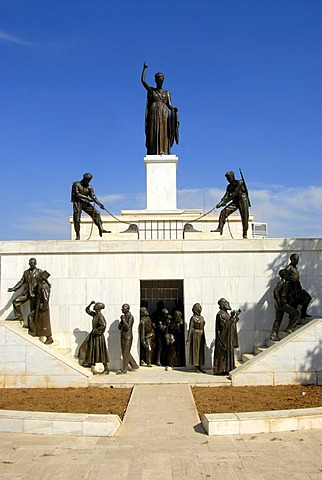 Liberty Monument, Podokataro Bastion, Nicosia, Lefkosia, Southern Cyprus, Republic of Cyprus, Mediterranean Sea, Europe