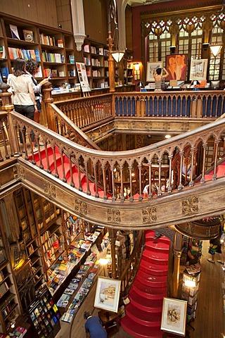 Bookshop, Lello & Irmao, Porto, Portugal, Europe