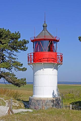 Quermarkenfeuer, Southern Lighthouse, Gellen, Hiddensee Island, Mecklenburg Western-Pomerania