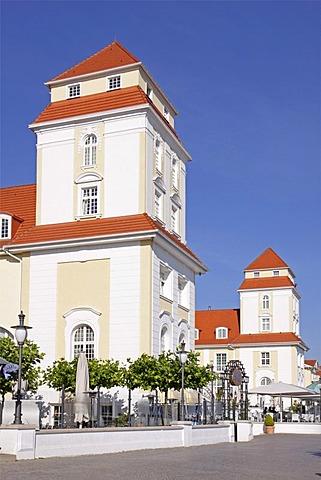 Kurhaus spa hotel, Binz, Ruegen Island, Mecklenburg-Western Pomerania, Germany, Europe