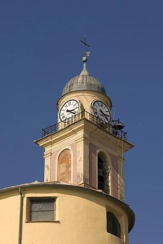 Santa Maria Assunta church, Camogli, Liguria, Italy, Europe