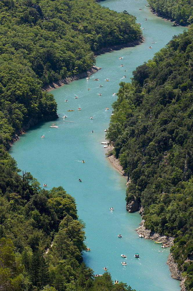 Verdon river, Gorges du Verdon, Provence, France, Europe
