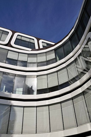 The Z-UP office building for Reader's Digest Germany, developed by Professor Kergassner, Best GmbH publishing house, Stuttgart, Baden-Wuerttemberg, Germany, Europe