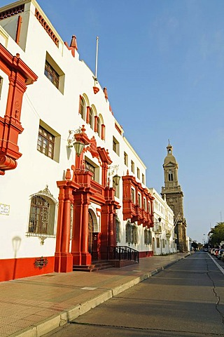 Palace of Justice, Cathedral, La Serena, Norte Chico, Northern Chile, Chile, South America