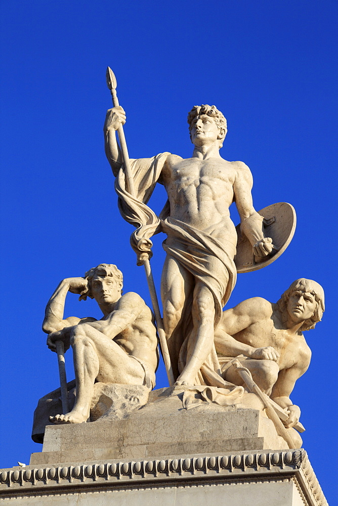 Monument to Vittorio Emanuele II, Rome, Italy, Europe