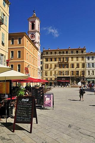 Place du Palais, Nice, Department Alpes-Maritimes, Region Provence-Alpes-Cote d'Azur, France, Europe