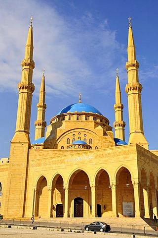 Khatem al-Anbiyaa Mosque, Beirut, Lebanon, Middle East, Orient