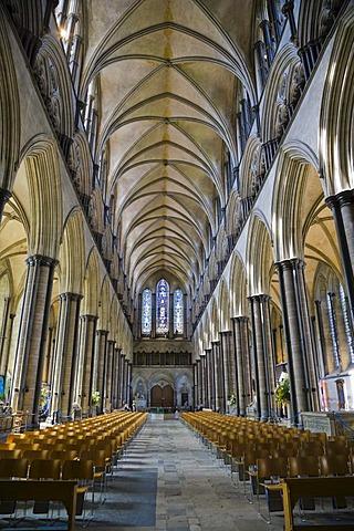 Salisbury Cathedral, Salisbury, Wiltshire, England, United Kingdom, Europe