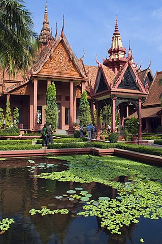 National Museum, Phnom Penh, Cambodia, Indochina, Southeast Asia
