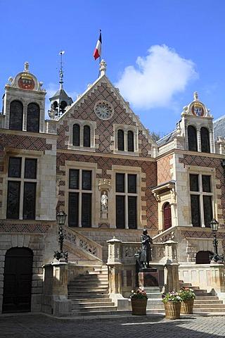 Groslot Hotel, Orleans, Loiret department, Centre region, France, Europe