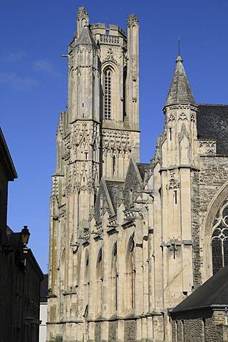Notre-Dame parish church, Saint-Lo, Manche department, Region Basse-Normandie, Normandy, France, Europe