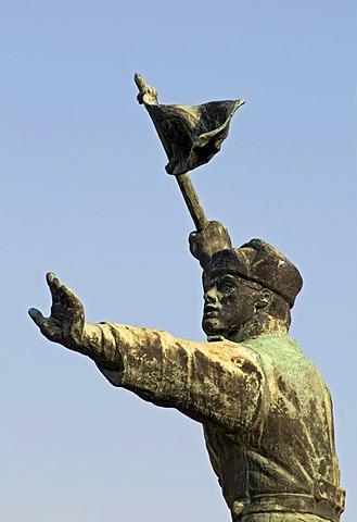 Buda Volunteers Regiment Memorial, Statue Park, Memento Park, Szoborpark, Budapest, Hungary, Europe