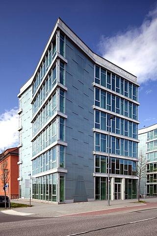 Wolfgang-Koehler-Haus building, Department of Psychology, Humboldt-Universitaet university, Wissenschaftsstadt Adlershof Science City, Berlin, Germany, Europe