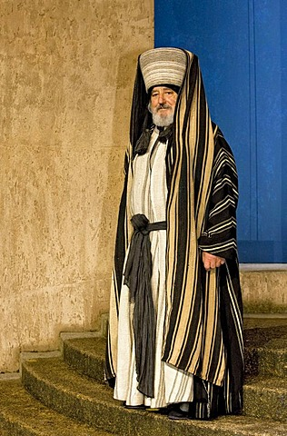 Actor performing in passion play, Passion Play 2010, Oberammergau, Bavaria, Germany, Europe