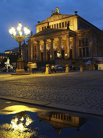The Konzerthaus concert hall, Gendarmenmarkt square, Berlin, Germany, Europe