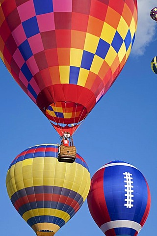 The National Hot Air Balloon Championships, Battle Creek, Michigan, USA, America