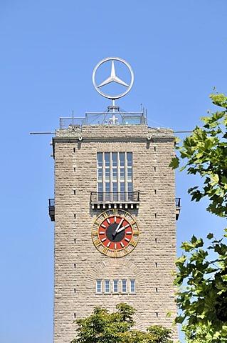 Tower of the main station in Stuttgart, Baden-Wuerttemberg, Germany, Europe