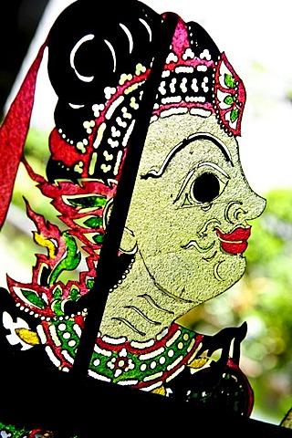 Shadow puppet museum, Suchart Subsin, Nakhon Si Thammarat, Thailand, Asia
