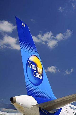 Aircraft, tail unit, Thomas Cook, Airbus