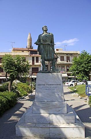 Sculpture, Rethymnon, Rethymno, Crete, Greece, Europe