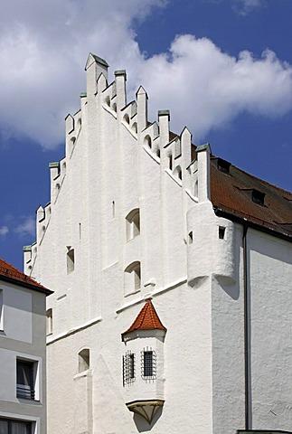 Herzogskasten building, the former duke's castle, Ingolstadt, Bavaria, Germany, Europe