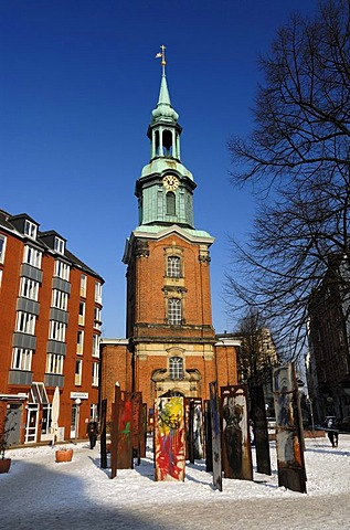 The Heilige Dreieinigkeitskirche Holy Trinity Church in St. Georg, Hamburg, Germany, Europe