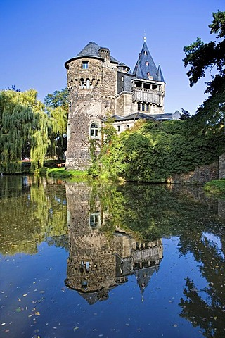Huelchrath Castle, Grevenbroich, North Rhine-Westphalia, Germany, Europe